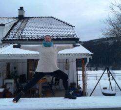 Yoga  med  Elisabeth  Hagen  Kvalem